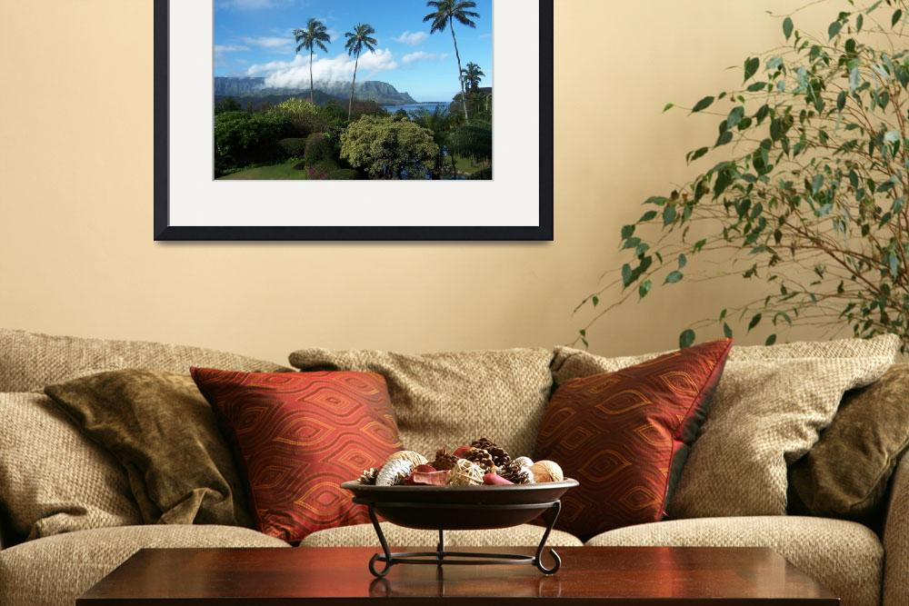 """Palms at Hanalei&quot  (2006) by jameseddy"