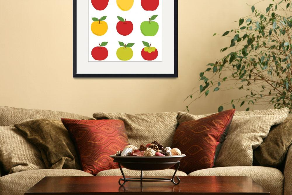 """Apples&quot  (2010) by eligri"