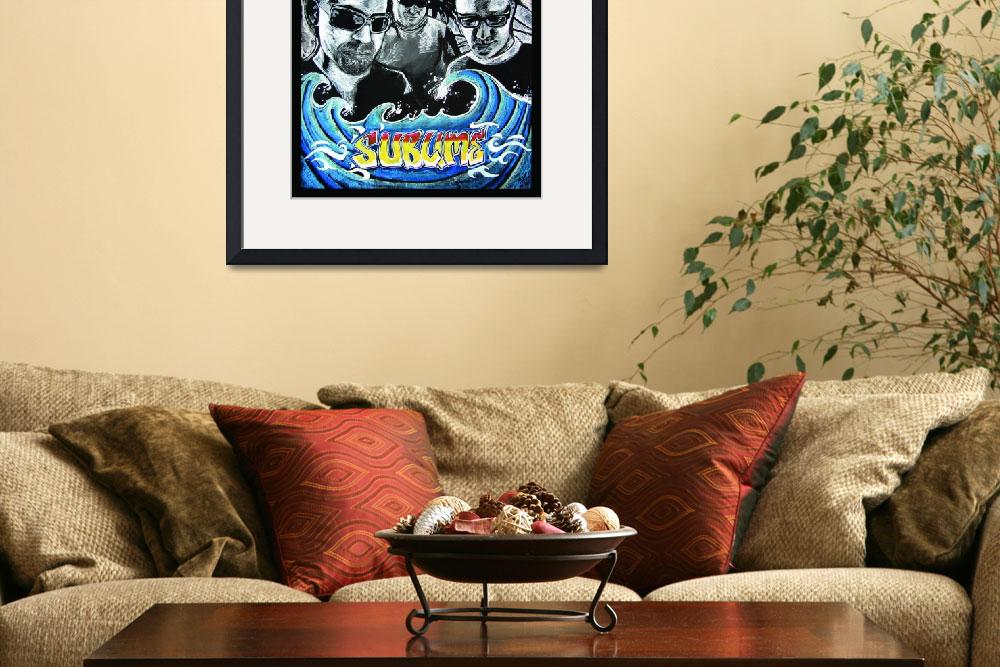 """Sublime BAND Poster&quot  (2008) by gillybrennan"