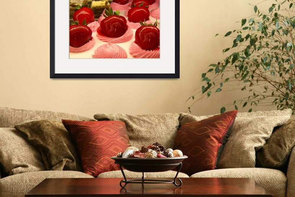 """Strawberry Mousse&quot  (2009) by AmyVangsgard"