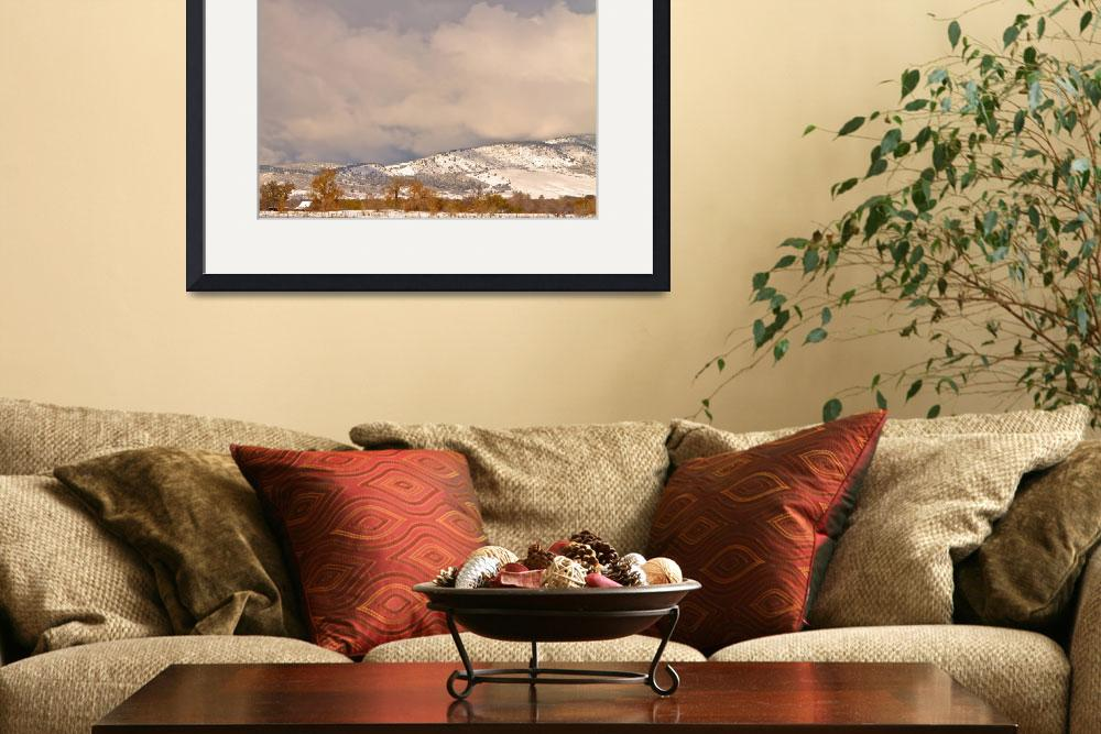 """Low Winter Storm Clouds Colorado  Foothills&quot  (2011) by lightningman"