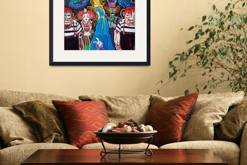 """Alice in Zombieland&quot  (2012) by ArtPrints"