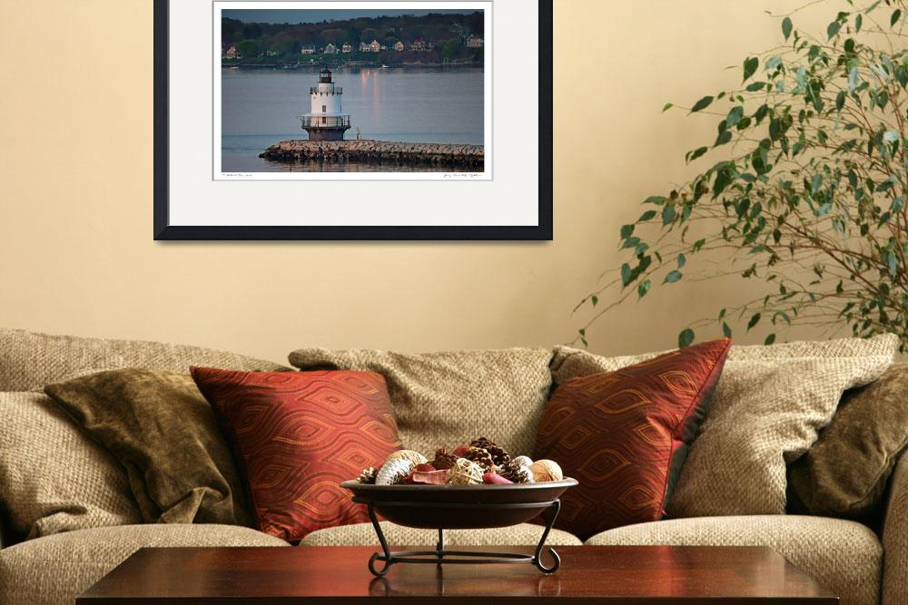 """Spring Point Ledge Lighthouse&quot  (2012) by aknbean"