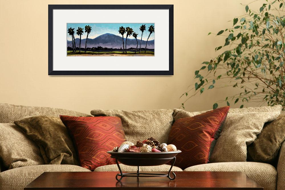 """The Panoramic Palm Trees&quot  (2011) by ElizaArt"
