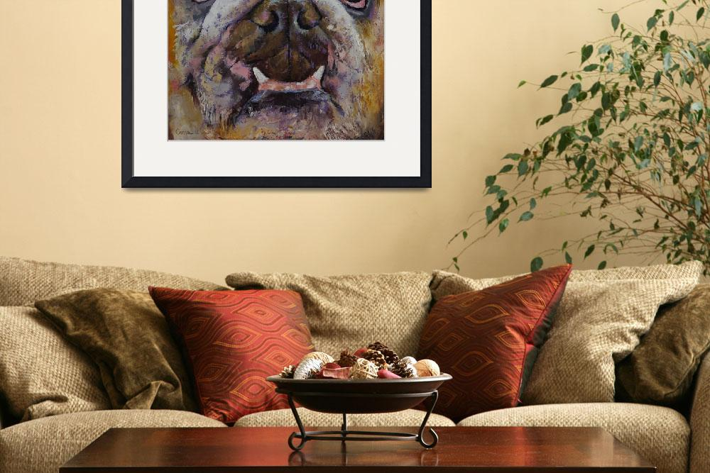 """Bulldog&quot  by creese"