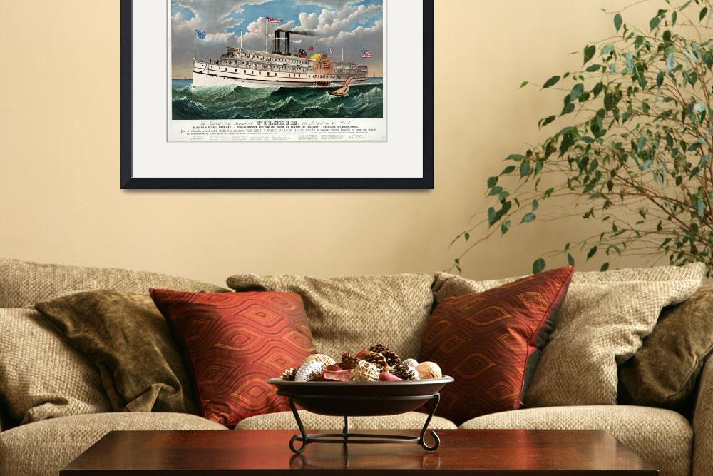 """STEAMBOAT 19TH CENT.&quot  by homegear"