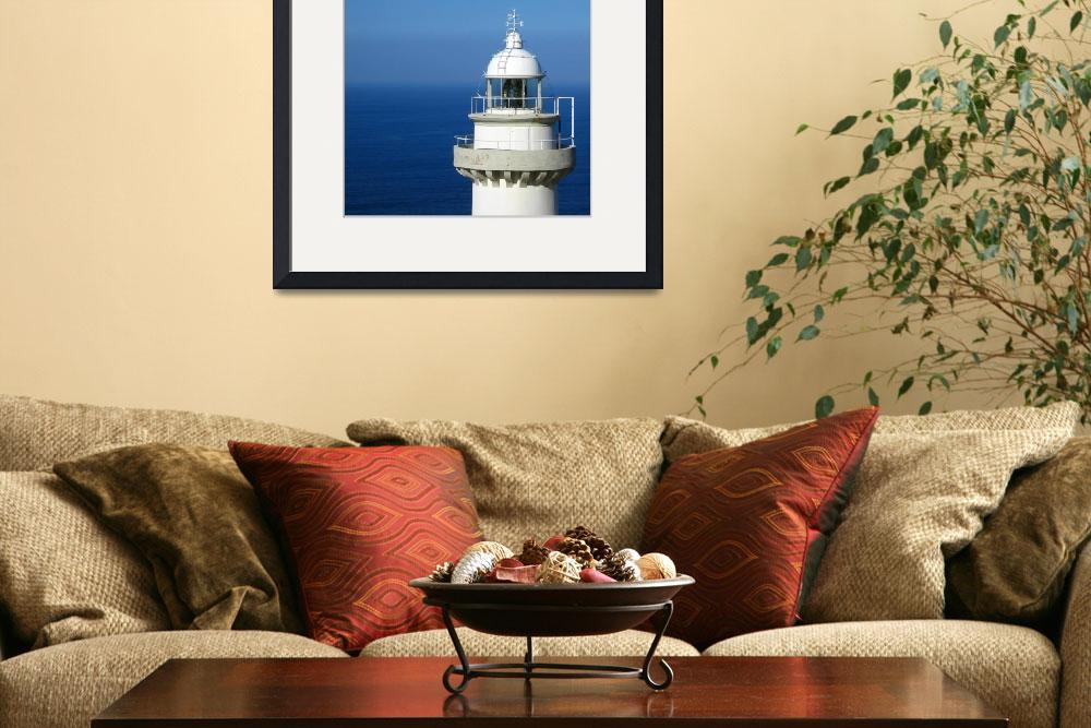"""Igeldo Lighthouse&quot  (2007) by albert-nagy"
