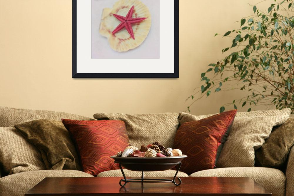 """little red starfish&quot  by Piri"