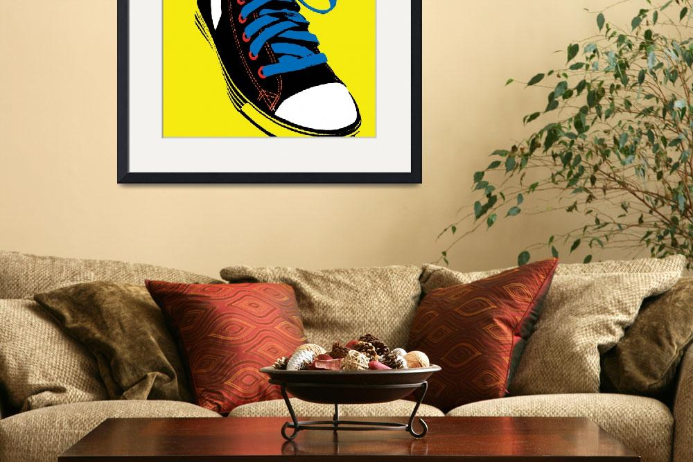 """Sneaker&quot  (2009) by PacoDozierGraphics"