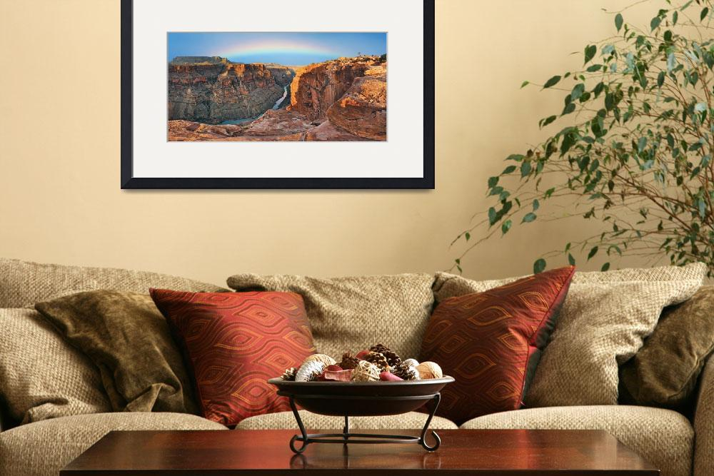 """Morning at the Grand Canyon&quot  (2008) by RichardSisk"