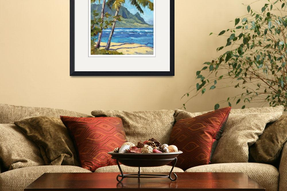 """Hanalei Bay&quot  (2009) by davidwesterfield"