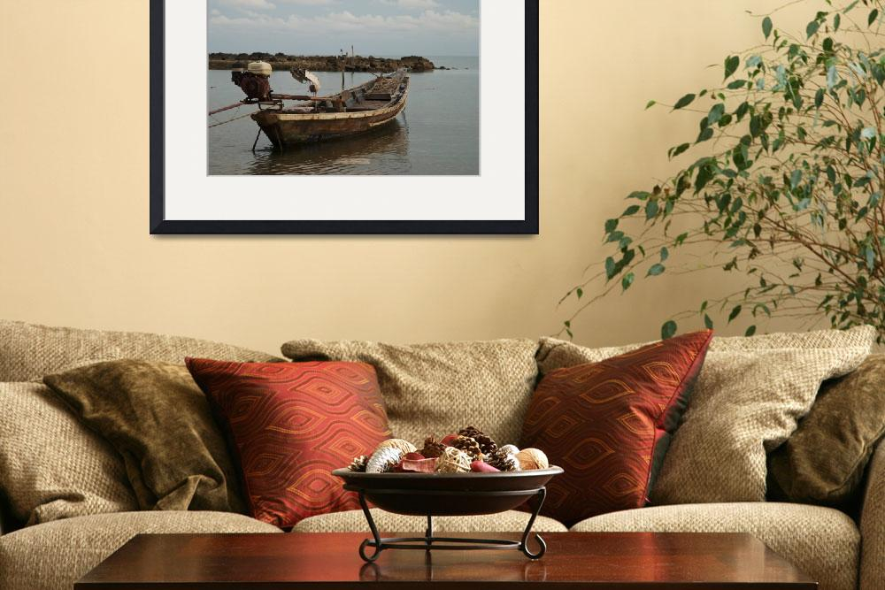 """Thai fishing boat&quot  (2009) by xavieryip"