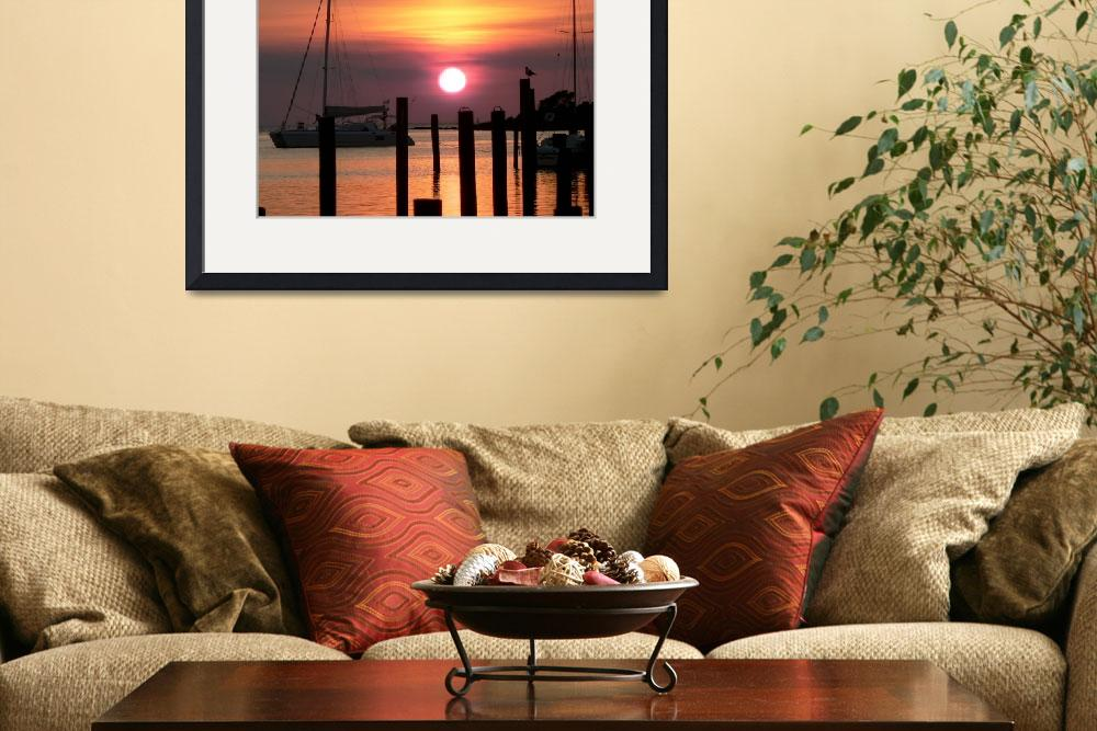 """Ocracoke Island Sunset&quot  (2007) by rayjacque"