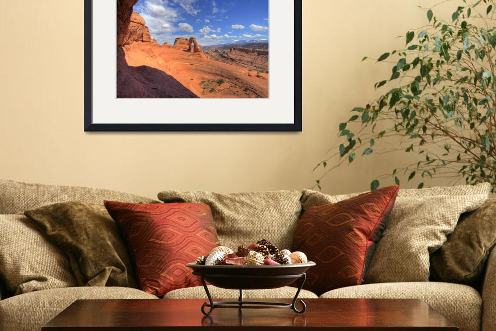 """Delicate Arch from the Portal&quot  (2007) by scingram"