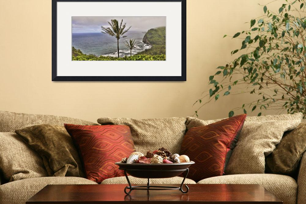 """Pololu Valley Overlook Panorama&quot  (2012) by PaulCoco"