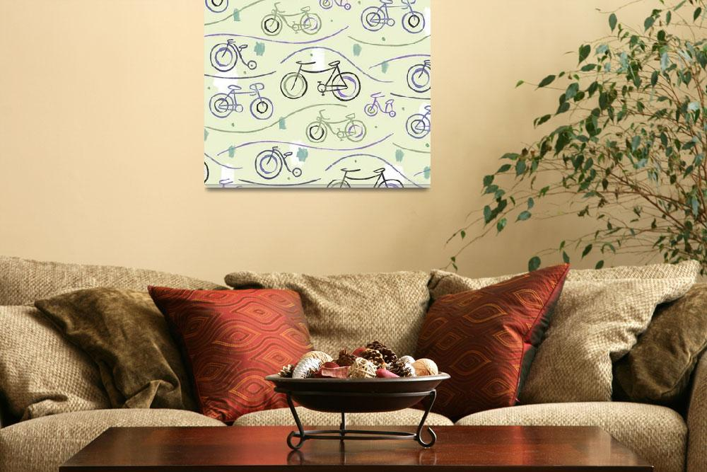 """Bikes Excites: Bicycles Design&quot  (2010) by SeanKaneStudio"