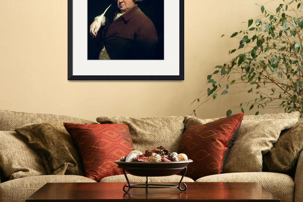 """Portrait of Dr Erasmus Darwin&quot  by fineartmasters"