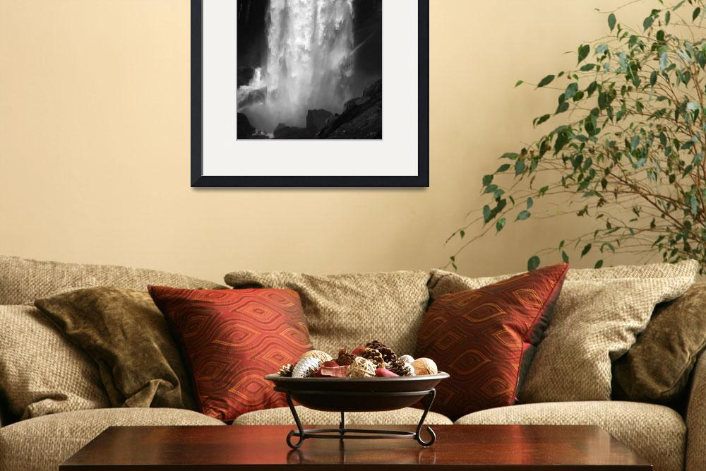 """Power of Vernal Fall&quot  (2008) by PadgettGallery"