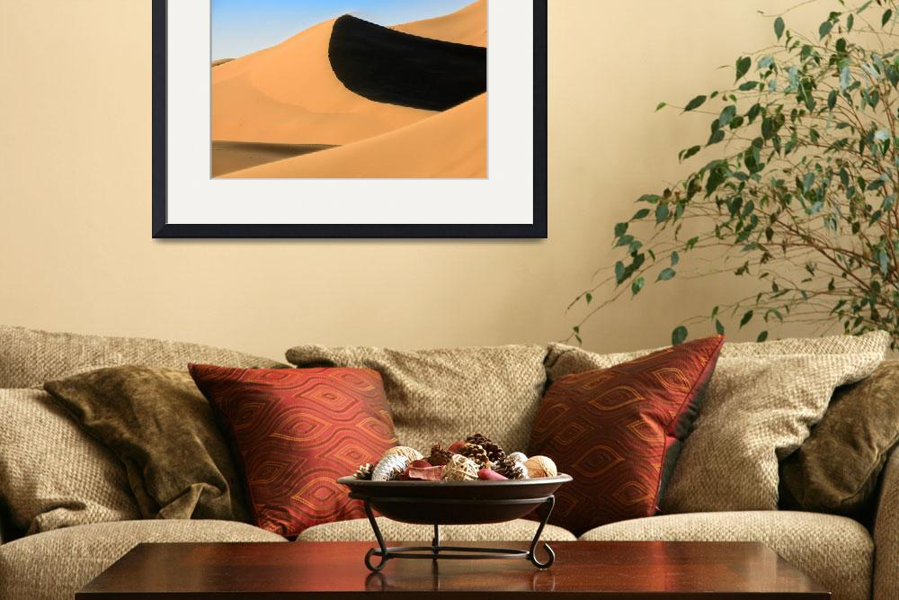 """Sand dunes of Moroccan desert&quot  (2014) by emporoslight"
