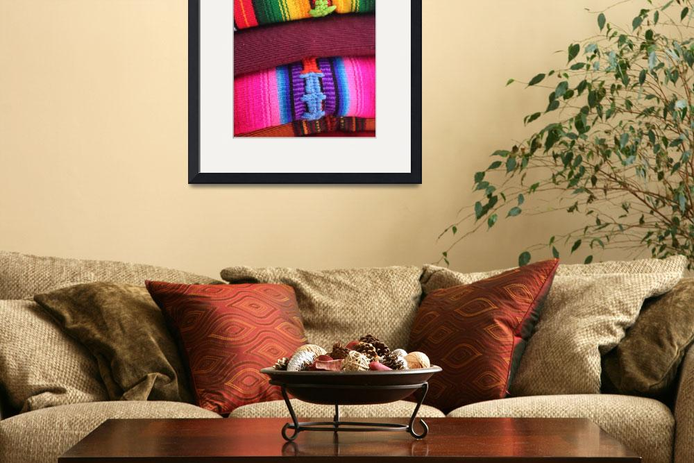 """Textiles from Antigua, Guatemala&quot  (2011) by charker"