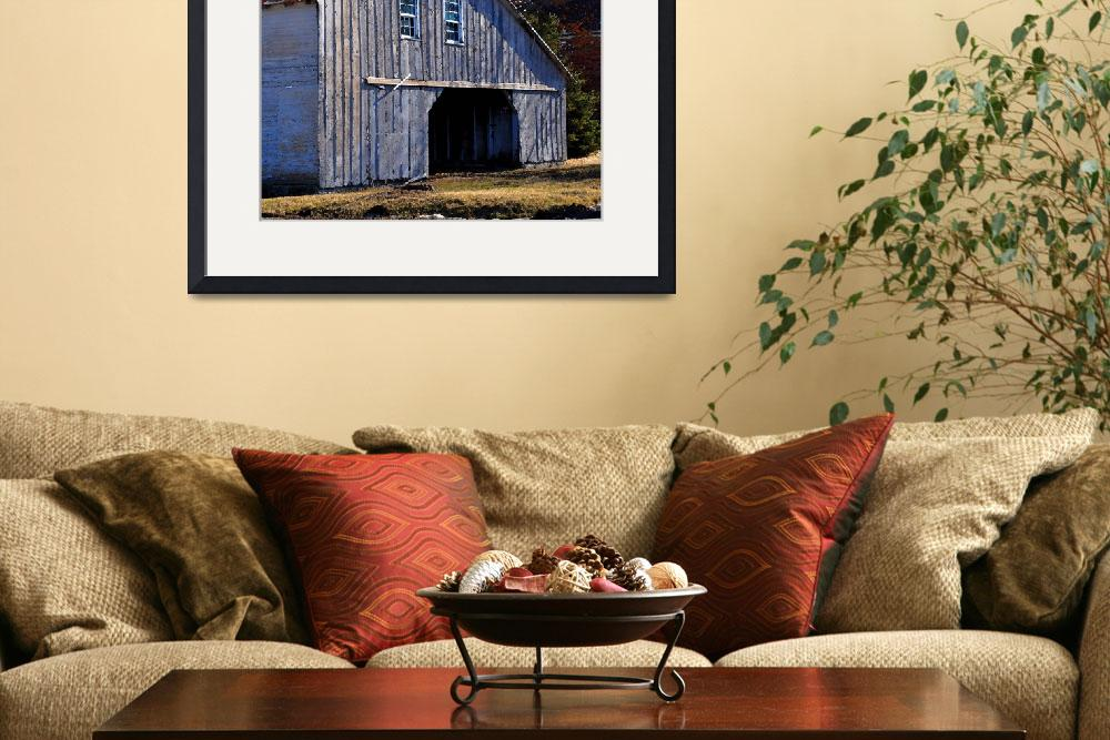 """The Gray Barn&quot  (2013) by Kirtdtisdale"