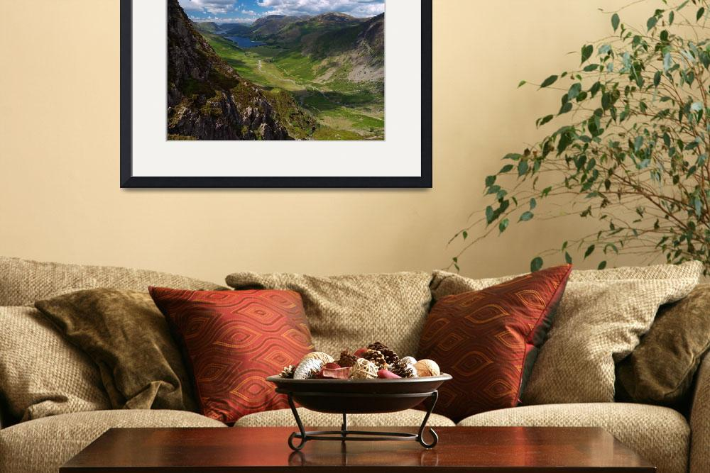 """Buttermere Valley&quot  (2008) by roger"
