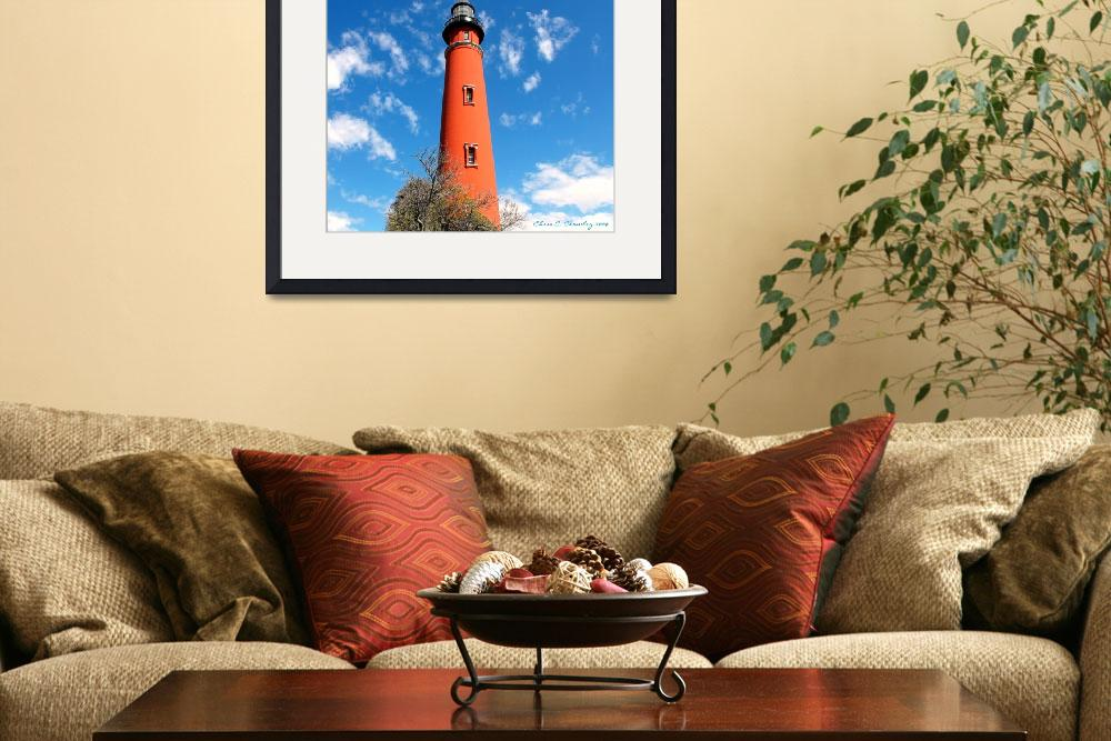 """Ponce Inlet Lighthouse&quot  (2009) by ChrisCrowley"
