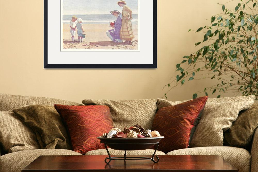 """AT THE BEACH 1916&quot  (1916) by homegear"