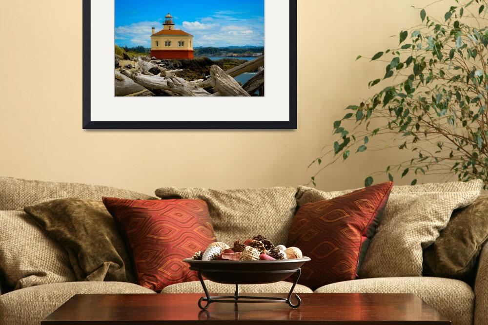 """Coquille Lighthouse&quot  (2013) by AlannahRaePhoto"