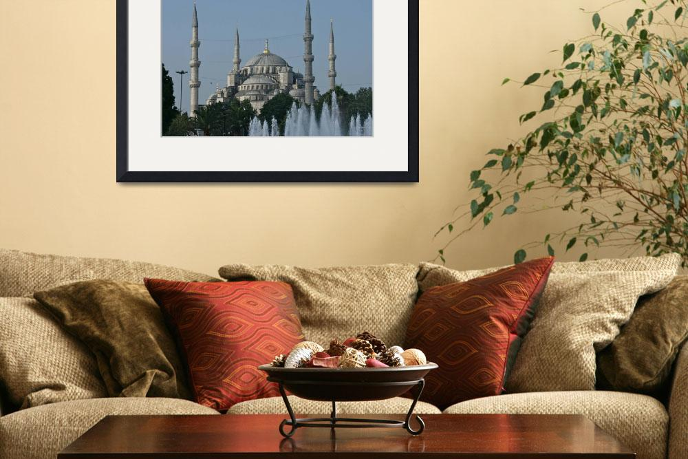 """Mosque and Minarets&quot  (2013) by SCGallery"
