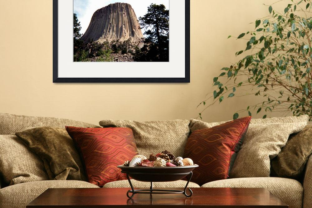 """Devils Tower&quot  (2004) by dasiygirl"