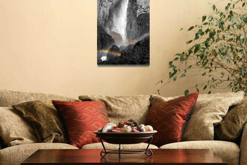 """Bridalveil Rainbows&quot  (2008) by PadgettGallery"