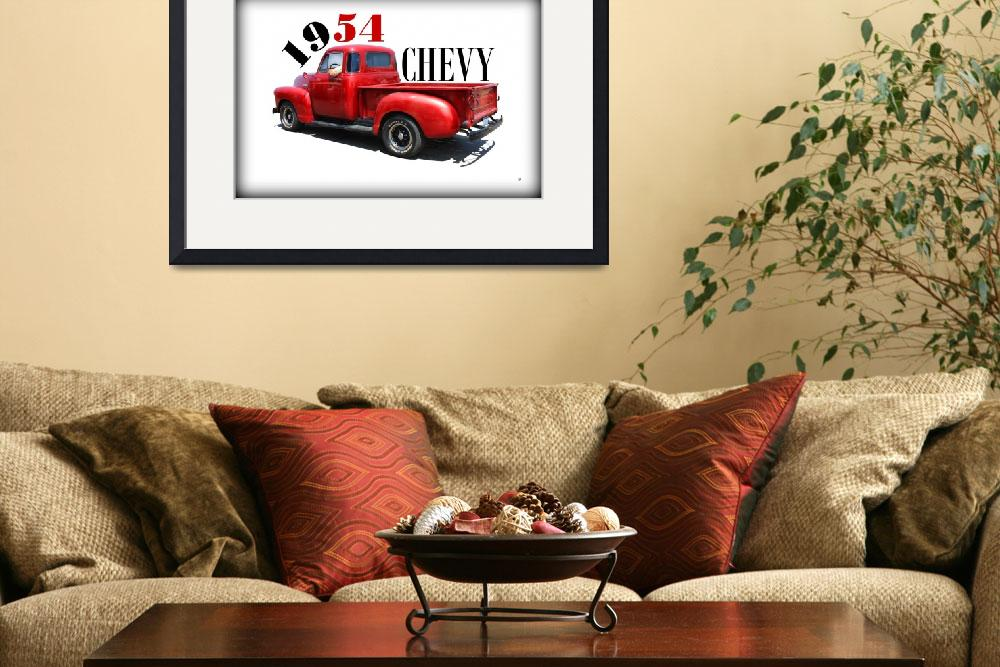 """1954 Chevy&quot  (2014) by bettynorthcutt"