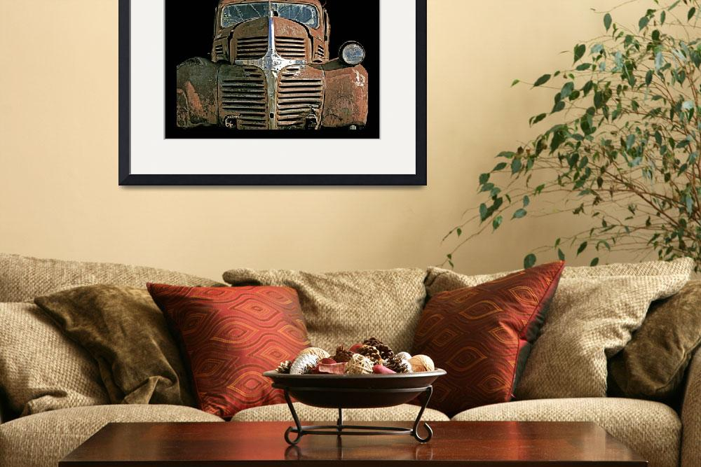 """Rusty Truck&quot  (2008) by FantaSeaArt"