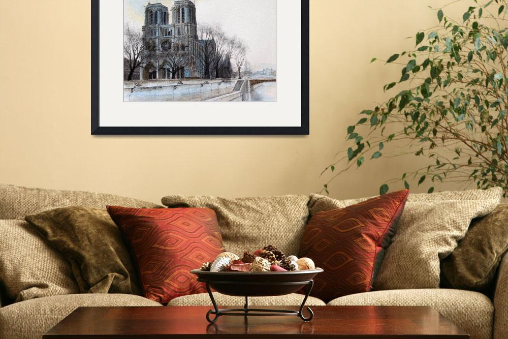 """Notre Dame Catherdral&quot  (2006) by dominicwhite"