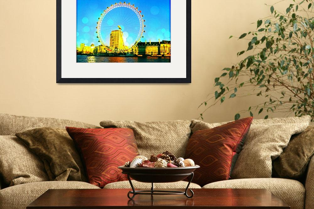"""I See London Fine Art Photograph&quot  (2010) by FarnumInkStudio"