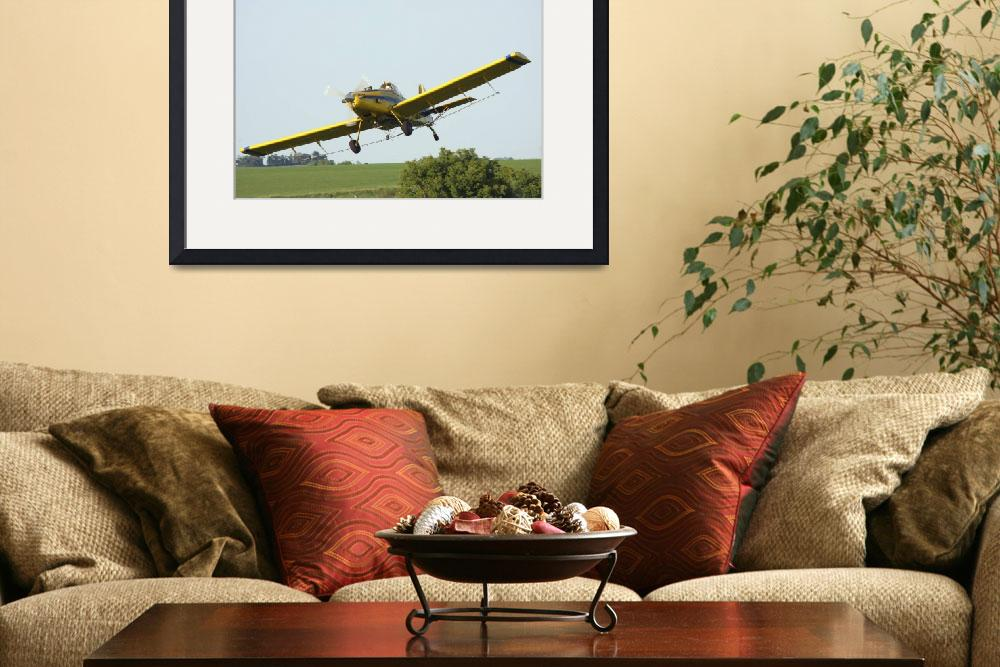 """Crop dusting plane in action&quot  by cameragal"