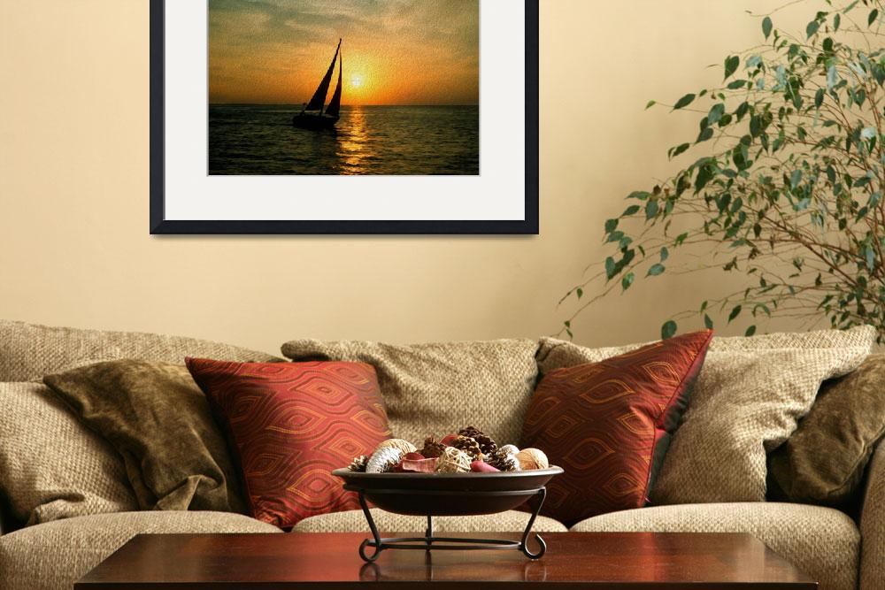 """Sunset Sail&quot  (2013) by netbrands"