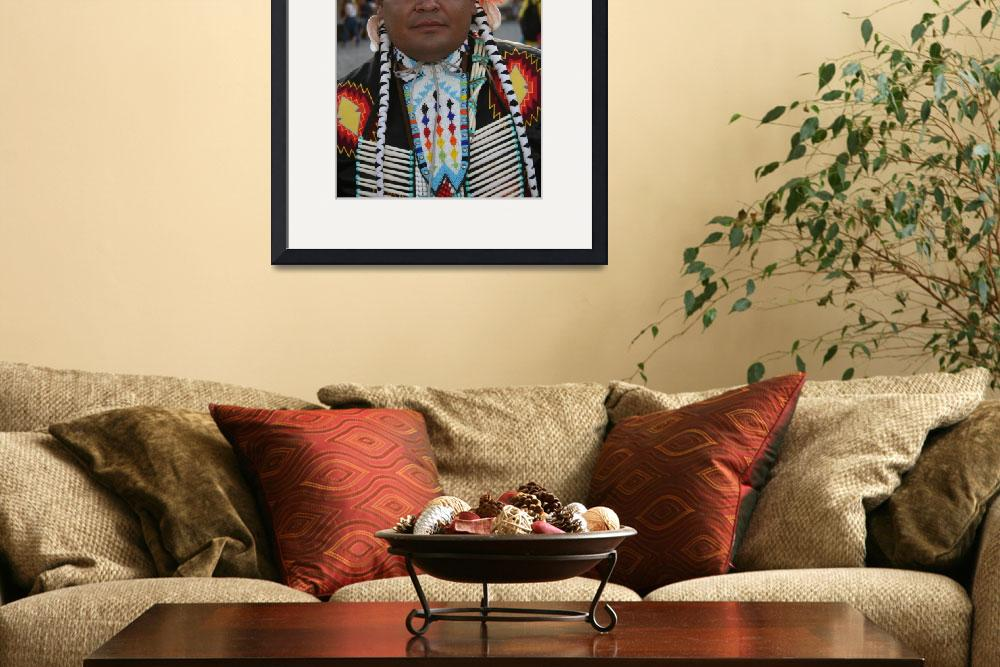 """Native American #1&quot  (2007) by arthurcurley"