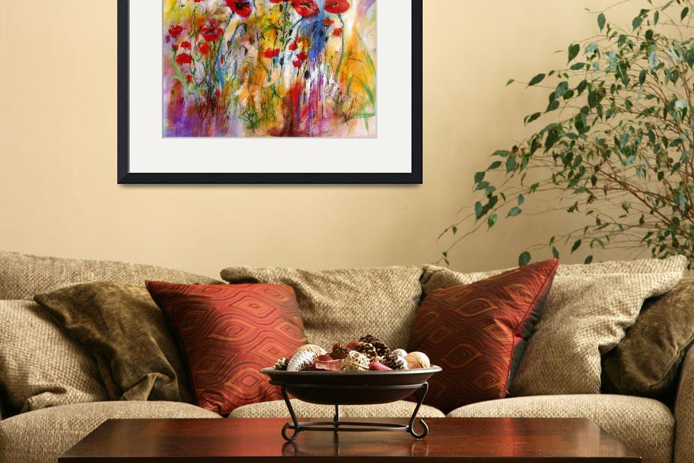 """Poppies Provencale Encore Painting by Ginette&quot  (2011) by GinetteCallaway"