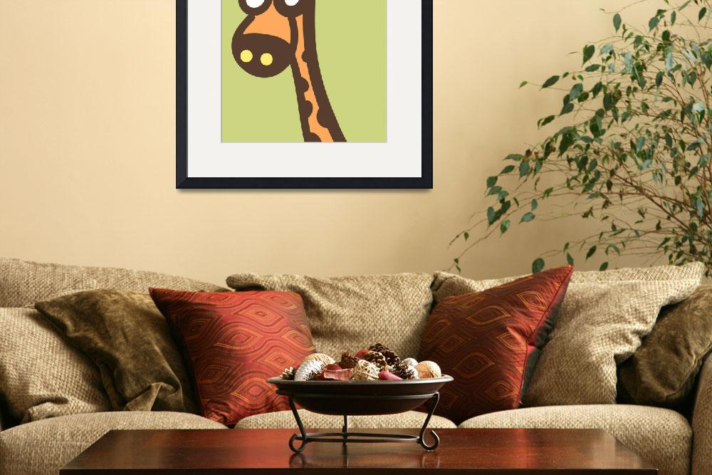 """Nusery Art - Baby Giraffe&quot  (2013) by nursery-art"