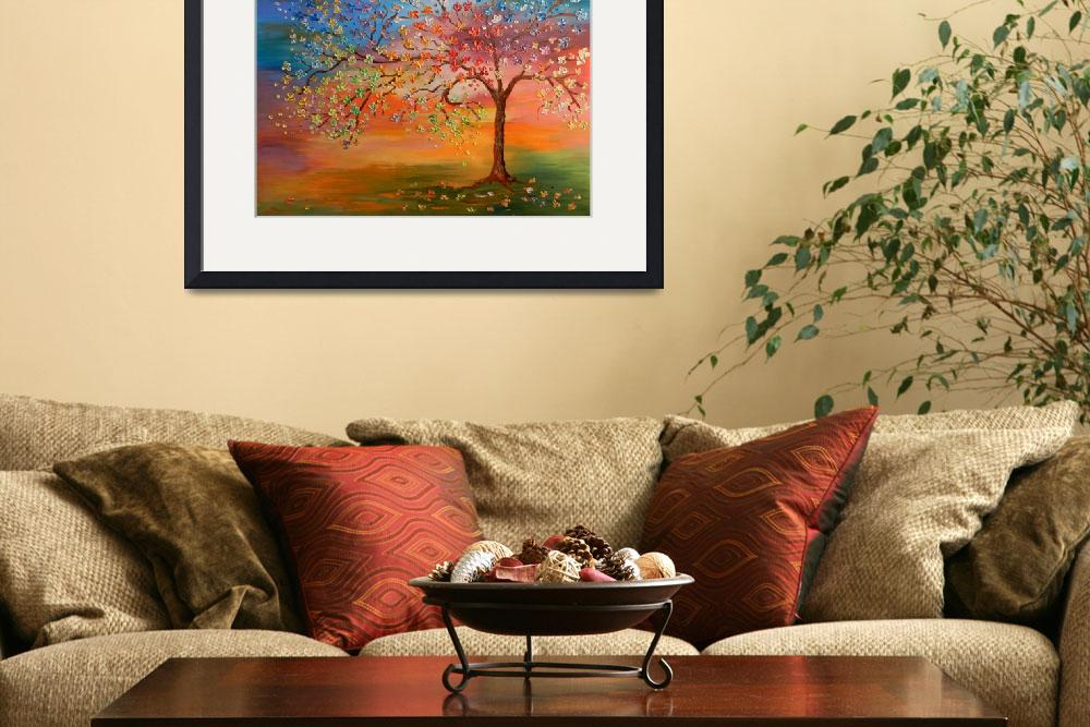 """Chameleon Tree&quot  (2013) by ArtByRuta"