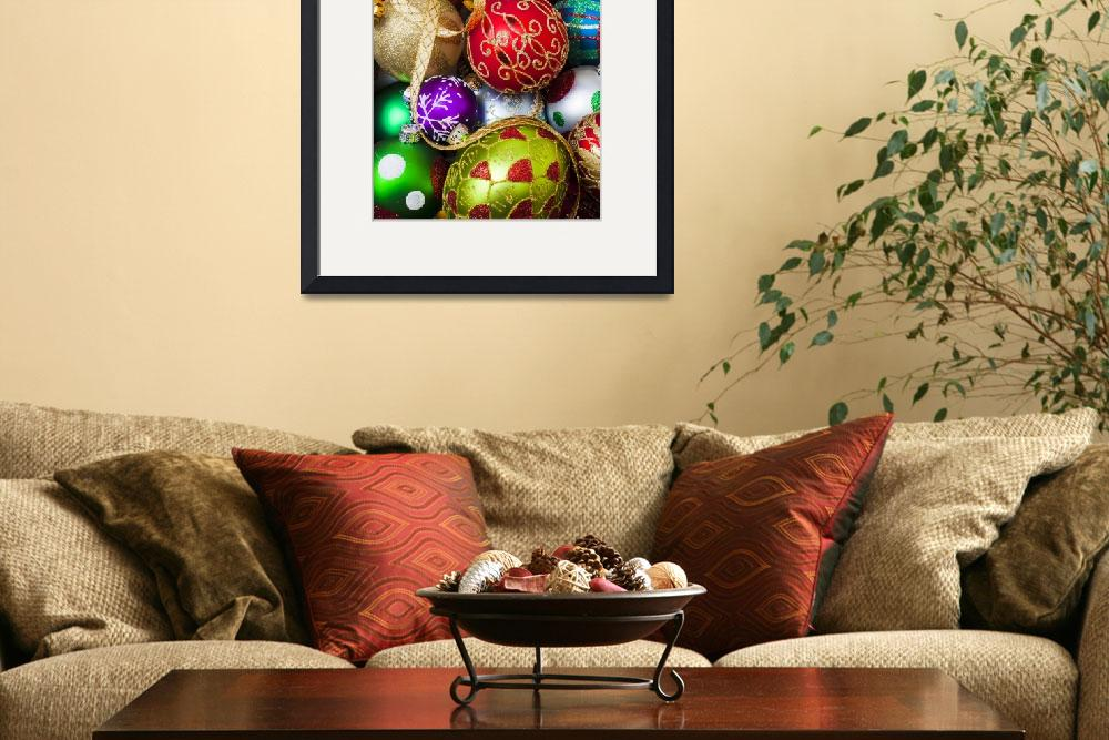 """Assorted beautiful ornaments&quot  (2012) by photogarry"