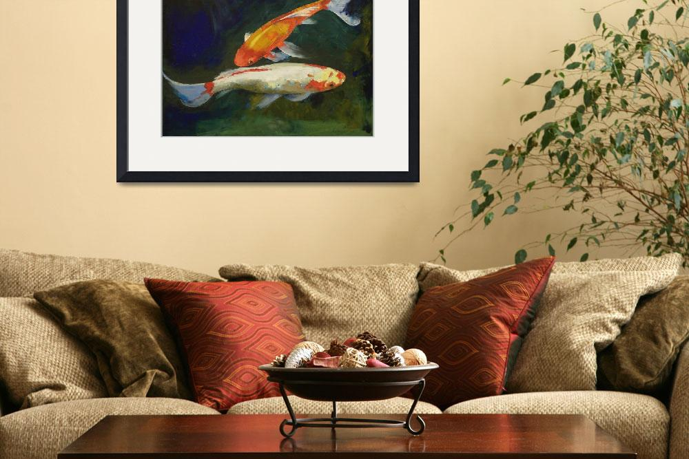 """Feng Shui Koi Fish&quot  by creese"