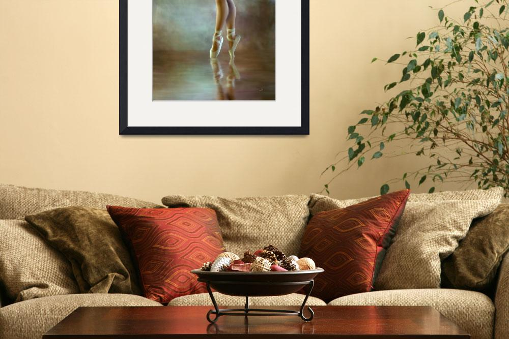 """Ballerina * Wall Art&quot  (2010) by AnaCBStudio"