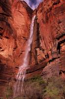 Zion National Park Waterfall