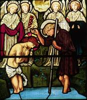Baptism of Christ by Edward Burne-Jones