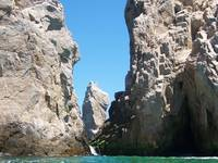 rocks in sea of cortez
