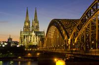 Cologne Cathedral at Twilight