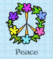 Tropical Peace Sign